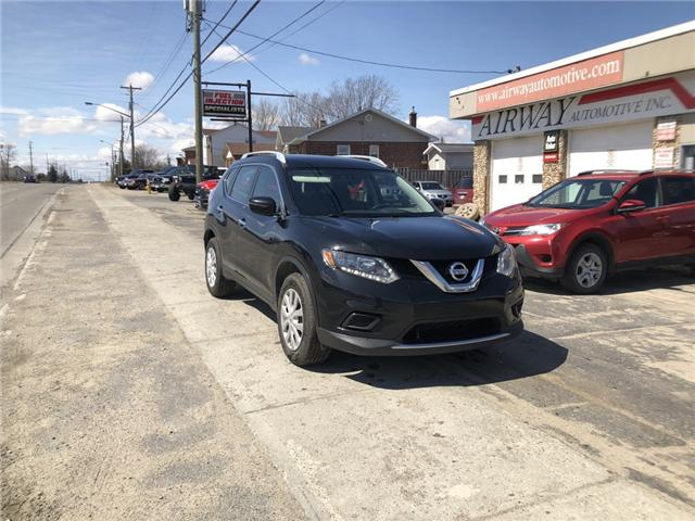 2016 Nissan Rogue S (Stk: 1878) in Garson - Image 1 of 8