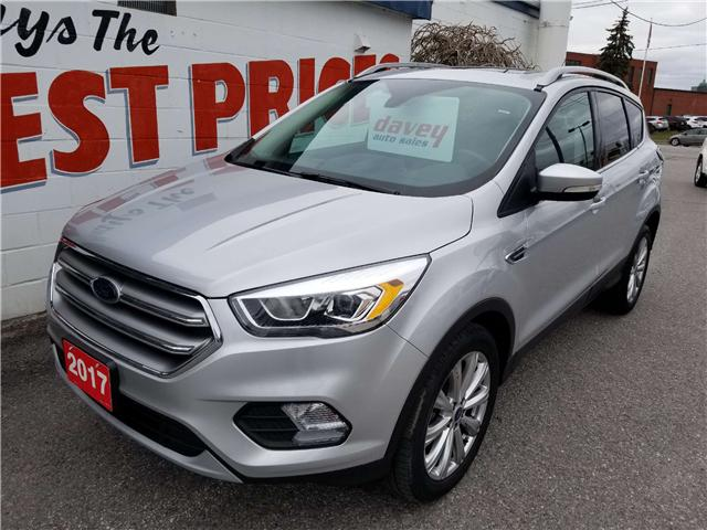 2017 Ford Escape Titanium (Stk: 19-019) in Oshawa - Image 1 of 16