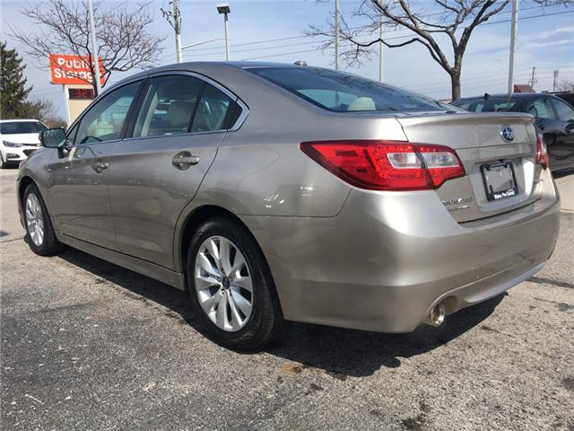 2015 Subaru Legacy 2.5i Touring Package (Stk: 1645W) in Oakville - Image 7 of 27