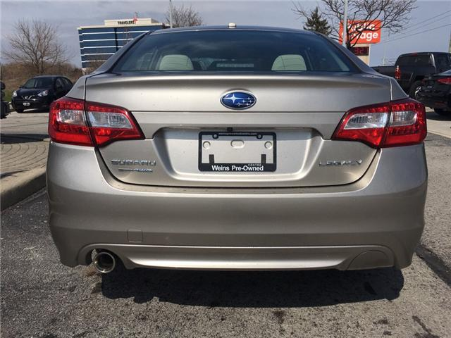 2015 Subaru Legacy 2.5i Touring Package (Stk: 1645W) in Oakville - Image 8 of 27