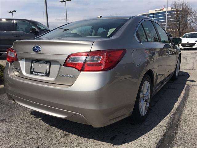 2015 Subaru Legacy 2.5i Touring Package (Stk: 1645W) in Oakville - Image 9 of 27