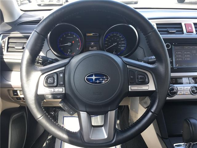 2015 Subaru Legacy 2.5i Touring Package (Stk: 1645W) in Oakville - Image 18 of 27
