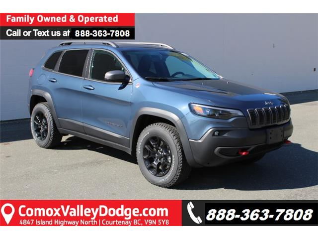 2019 Jeep Cherokee Trailhawk (Stk: D422998) in Courtenay - Image 1 of 30