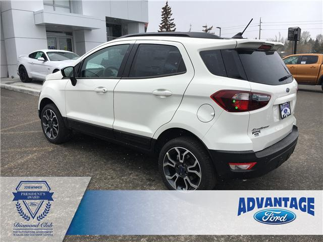 2019 Ford EcoSport SES (Stk: K-465) in Calgary - Image 3 of 5