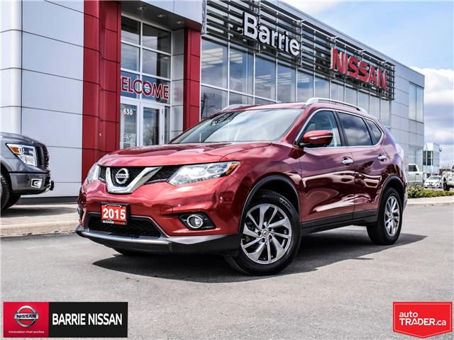2015 Nissan Rogue SL (Stk: P4555) in Barrie - Image 1 of 27