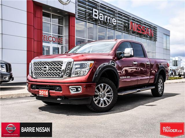2016 Nissan Titan XD Platinum Reserve Gas (Stk: 19243B) in Barrie - Image 1 of 28
