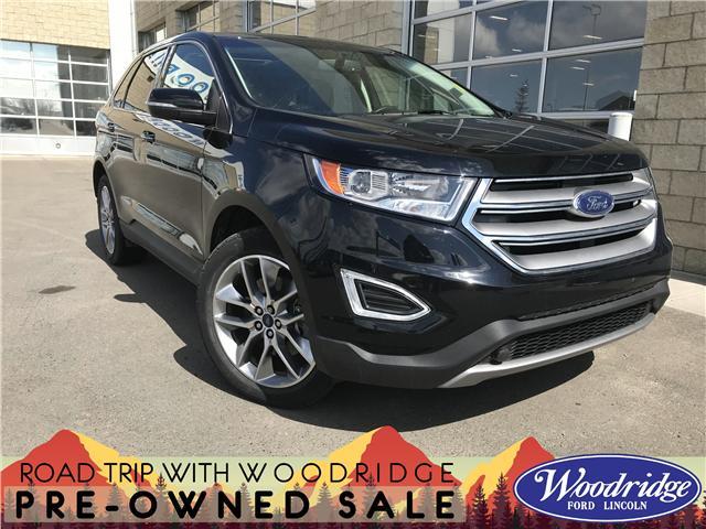 2017 Ford Edge Titanium (Stk: K-1585B) in Calgary - Image 1 of 22