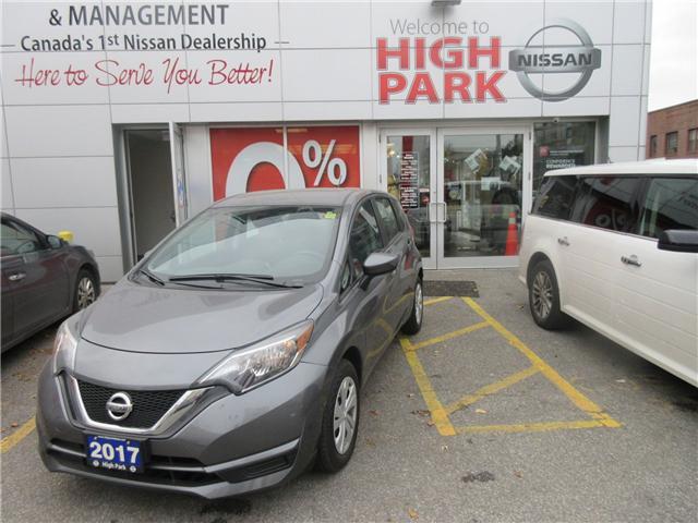 2017 Nissan Versa Note 1.6 S (Stk: B17170) in Toronto - Image 1 of 1