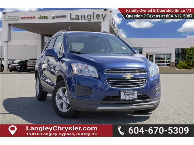 2016 Chevrolet Trax LT (Stk: EE900520A) in Surrey - Image 1 of 23