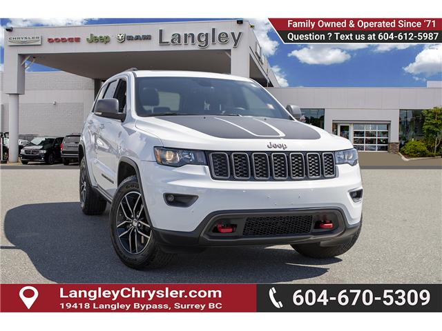 2017 Jeep Grand Cherokee Trailhawk (Stk: K743633A) in Surrey - Image 1 of 24