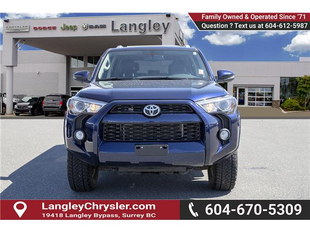 2018 Toyota 4Runner SR5 (Stk: EE902590) in Surrey - Image 2 of 27