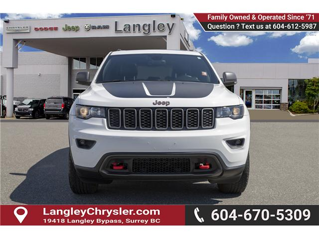 2017 Jeep Grand Cherokee Trailhawk (Stk: K743633A) in Surrey - Image 2 of 24