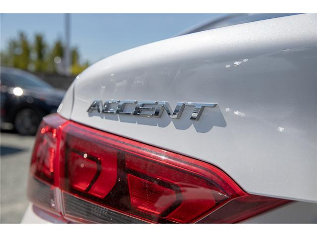2019 Hyundai Accent Preferred (Stk: KA081265) in Abbotsford - Image 10 of 26