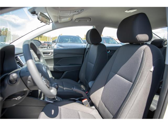 2019 Hyundai Accent Preferred (Stk: KA081265) in Abbotsford - Image 11 of 26