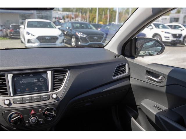 2019 Hyundai Accent Preferred (Stk: KA081265) in Abbotsford - Image 17 of 26