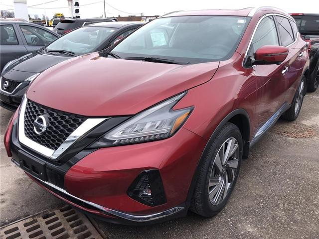 2019 Nissan Murano SL (Stk: V0226) in Cambridge - Image 1 of 5