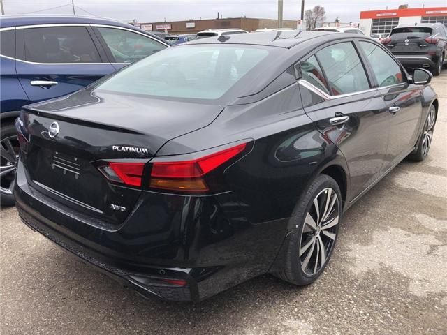 2019 Nissan Altima 2.5 Platinum (Stk: V0315) in Cambridge - Image 4 of 5