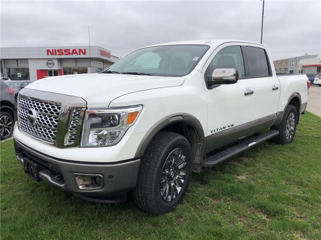 2018 Nissan Titan Platinum (Stk: U1095) in Cambridge - Image 1 of 5