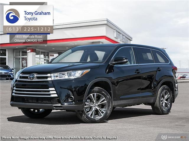 2019 Toyota Highlander LE AWD Convenience Package (Stk: 58169) in Ottawa - Image 1 of 23