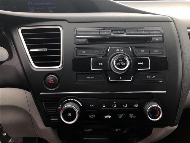 2015 Honda Civic LX (Stk: 66967) in Mississauga - Image 13 of 19