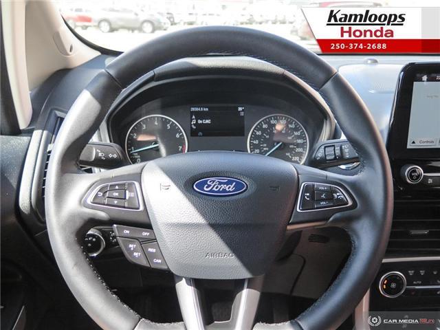 2018 Ford EcoSport Titanium (Stk: 14435U) in Kamloops - Image 14 of 25