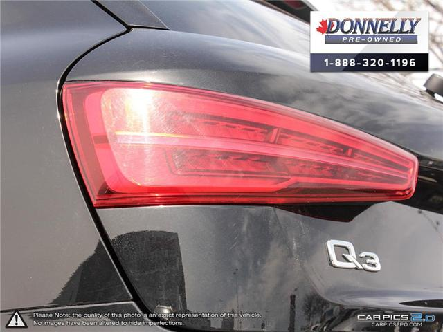 2018 Audi Q3 2.0T Progressiv (Stk: CLMUR947) in Kanata - Image 11 of 27