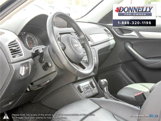 2018 Audi Q3 2.0T Progressiv (Stk: CLMUR947) in Kanata - Image 13 of 27