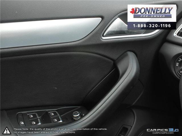 2018 Audi Q3 2.0T Progressiv (Stk: CLMUR947) in Kanata - Image 17 of 27