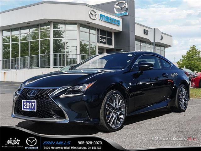 2017 Lexus RC 350 Base (Stk: 19-0319A) in Mississauga - Image 1 of 19