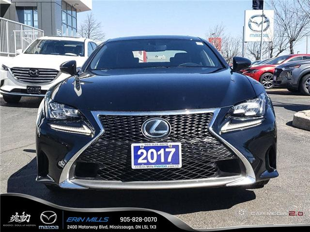 2017 Lexus RC 350 Base (Stk: 19-0319A) in Mississauga - Image 2 of 19