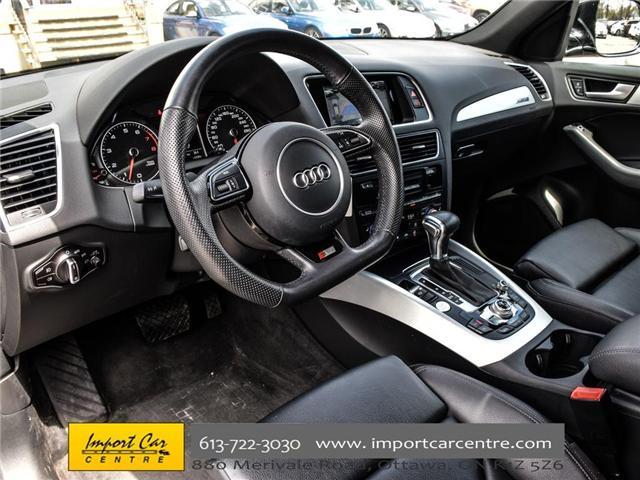 2017 Audi Q5 3.0T Progressiv (Stk: 007982) in Ottawa - Image 16 of 30