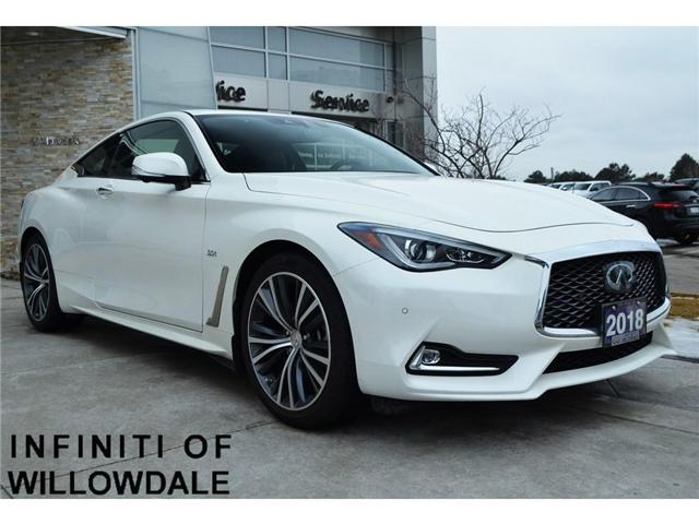 2018 Infiniti Q60 3.0t LUXE (Stk: DEMO-H7822) in Thornhill - Image 1 of 7
