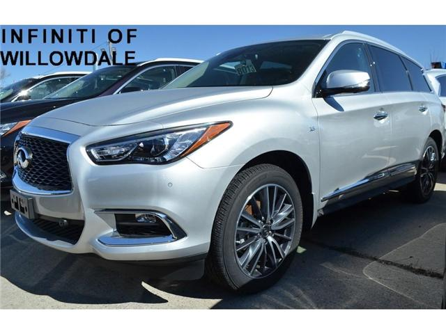 2018 Infiniti QX60  (Stk: DEMO-H8013) in Thornhill - Image 1 of 7