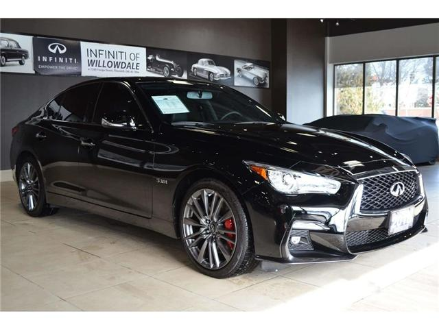 2018 Infiniti Q50 3.0t Red Sport 400 (Stk: DEMO-H8347) in Thornhill - Image 9 of 30