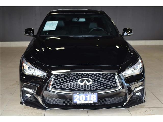 2018 Infiniti Q50 3.0t Red Sport 400 (Stk: DEMO-H8347) in Thornhill - Image 10 of 30