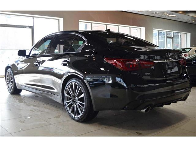 2018 Infiniti Q50 3.0t Red Sport 400 (Stk: DEMO-H8347) in Thornhill - Image 13 of 30