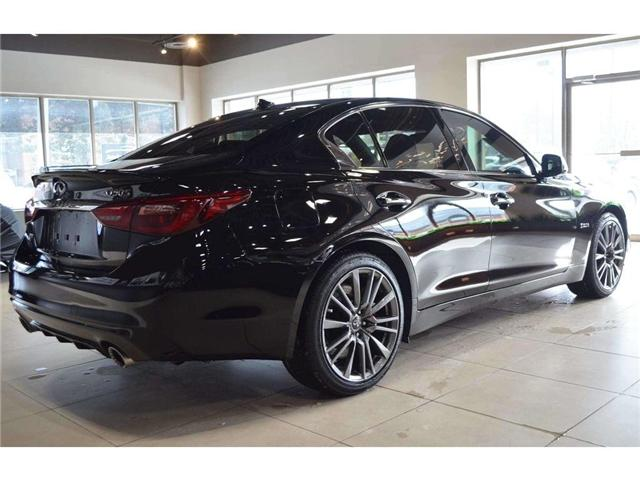 2018 Infiniti Q50 3.0t Red Sport 400 (Stk: DEMO-H8347) in Thornhill - Image 16 of 30