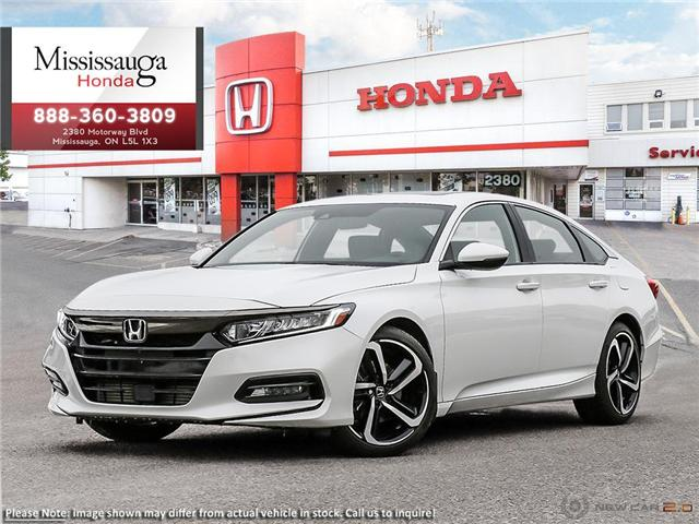 2019 Honda Accord Sport 1.5T (Stk: 325415) in Mississauga - Image 1 of 23