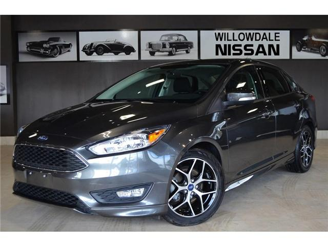 2018 Ford Focus SE (Stk: E6487A) in Thornhill - Image 1 of 30