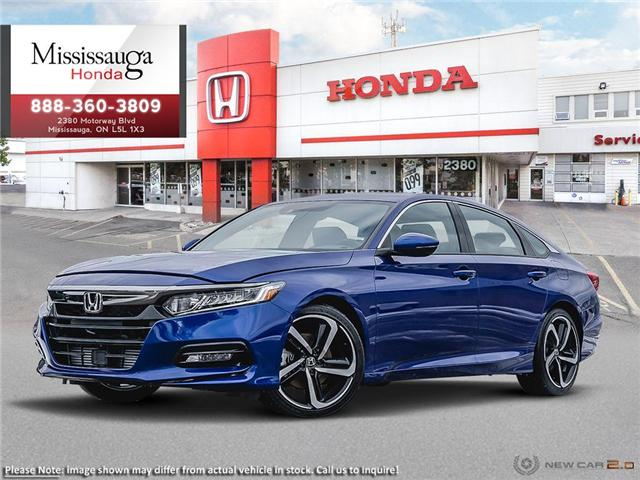2019 Honda Accord Sport 2.0T (Stk: 325184) in Mississauga - Image 1 of 23