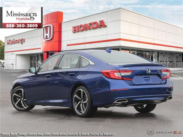 2019 Honda Accord Sport 1.5T (Stk: 325417) in Mississauga - Image 4 of 23