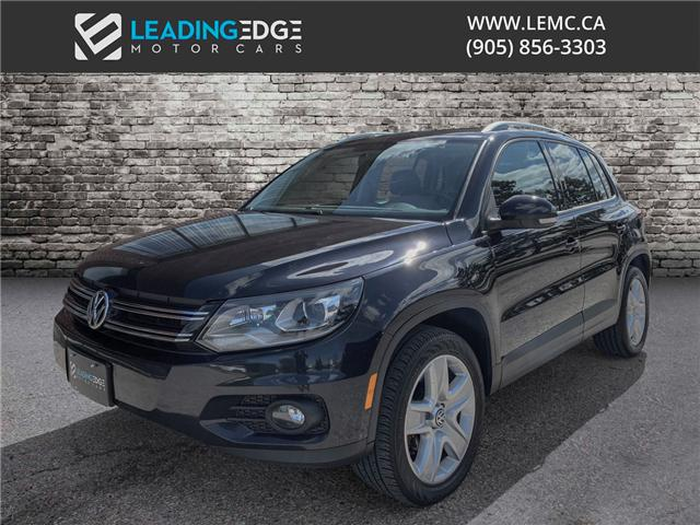 2015 Volkswagen Tiguan Comfortline (Stk: 13852) in Woodbridge - Image 1 of 16
