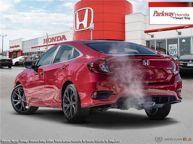 2019 Honda Civic Sport (Stk: 929260) in North York - Image 4 of 21
