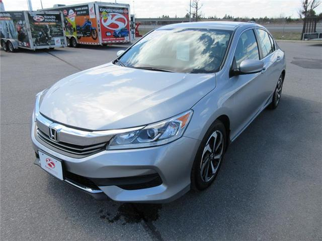 2016 Honda Accord LX (Stk: K14376A) in Ottawa - Image 1 of 16
