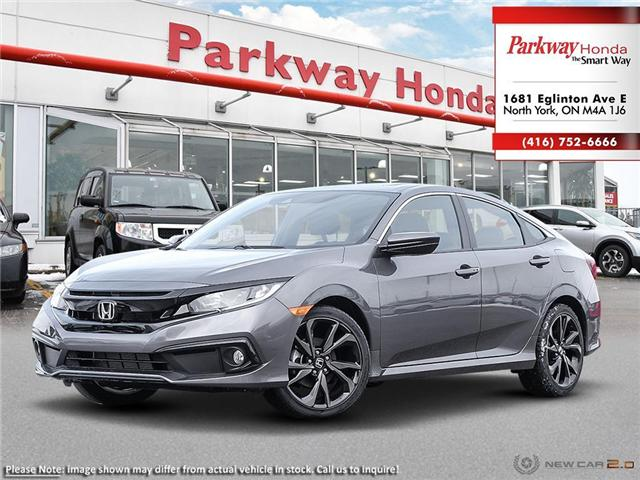 2019 Honda Civic Sport (Stk: 929283) in North York - Image 1 of 23