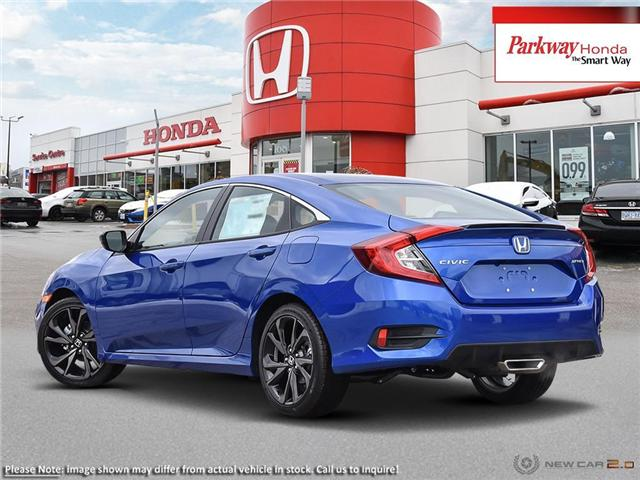2019 Honda Civic Sport (Stk: 929317) in North York - Image 4 of 23