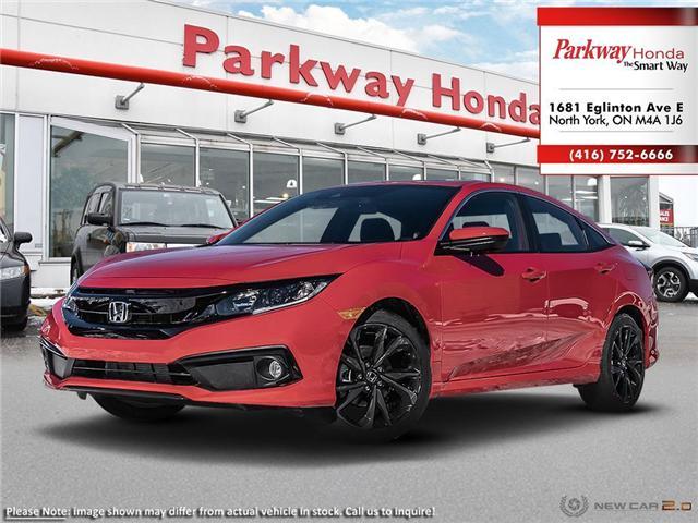 2019 Honda Civic Sport (Stk: 929261) in North York - Image 1 of 21