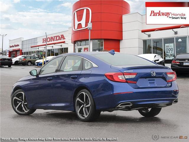2019 Honda Accord Sport 1.5T (Stk: 928036) in North York - Image 4 of 23