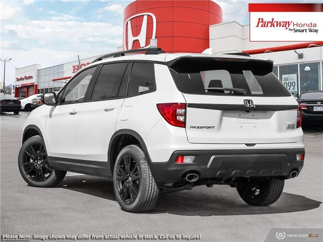 2019 Honda Passport Sport (Stk: 923078) in North York - Image 4 of 23