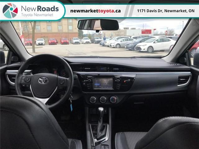 2015 Toyota Corolla  (Stk: 340051) in Newmarket - Image 10 of 15
